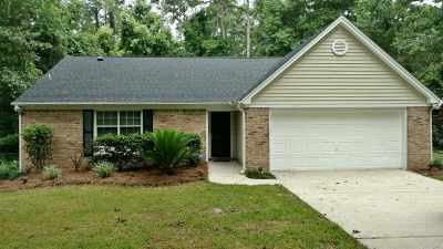 Killearn Lakes Single Family Home New: 8246 Chickasaw Trail