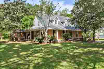 Tallahassee Single Family Home New: 5968 Ox Bottom Manor Rd