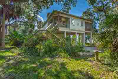 Crawfordville Single Family Home For Sale: 90 Shady Sea Street