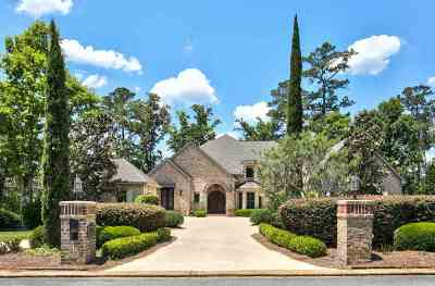 Tallahassee FL Single Family Home New: $1,250,000