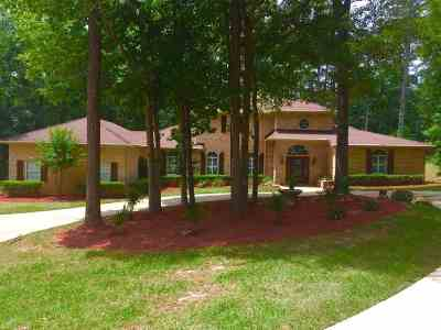 Tallahassee Single Family Home For Sale: 3018 E Golden Eagle Drive