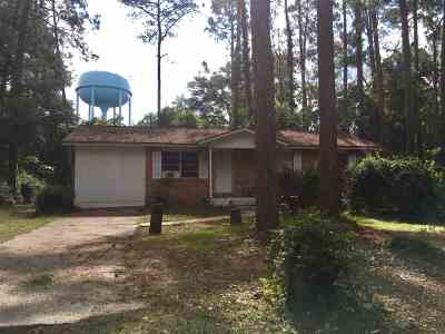 Crawfordville Single Family Home For Sale: 21 Holly Avenue