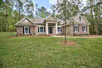 Tallahassee Single Family Home For Sale: 3018 Eagle Point Way