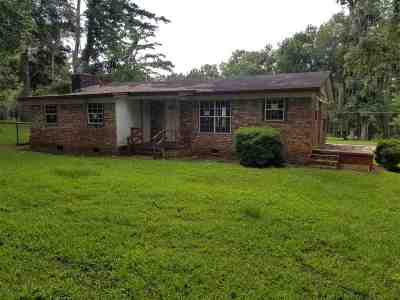 tallahassee Single Family Home For Sale: 2547 Eddie Road