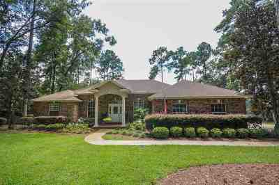 Tallahassee Single Family Home For Sale: 3204 Horseshoe Trail