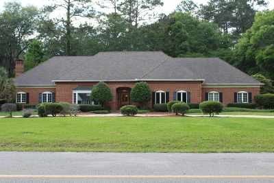 Tallahassee Single Family Home For Sale: 4775 Highgrove Rd