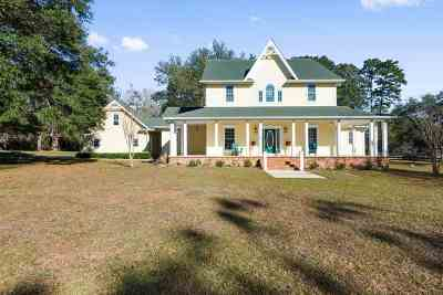 Tallahassee Single Family Home For Sale: 13000 Laurel Hill Drive