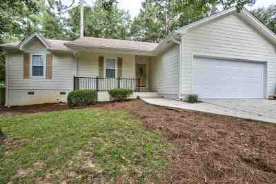tallahassee Single Family Home For Sale: 8368 Hunters Ridge Trail