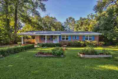 tallahassee Single Family Home For Sale: 1111 Mountbatten