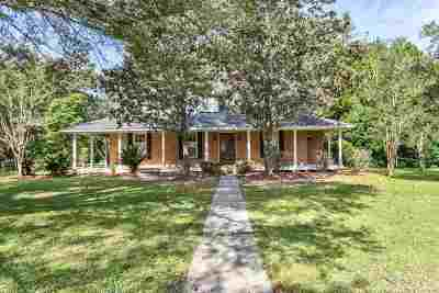 Tallahassee Single Family Home For Sale: 5968 Ox Bottom Manor Rd