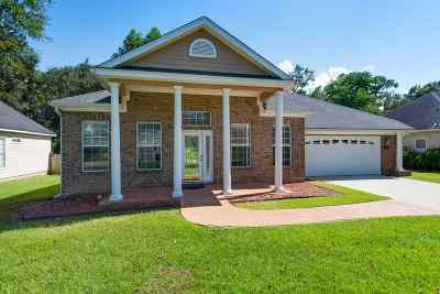 Tallahassee Single Family Home Reduce Price: 1242 Sandler Ridge Road