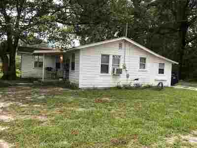 Woodville Single Family Home For Sale: 9512 Woodville Highway