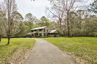Tallahassee Single Family Home New: 545 Willowbrook Lane