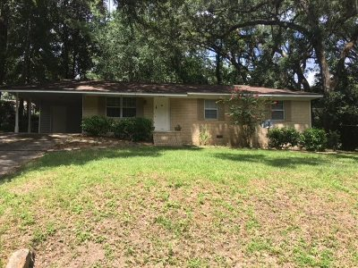 Tallahassee Single Family Home New: 2634 Hastings Drive