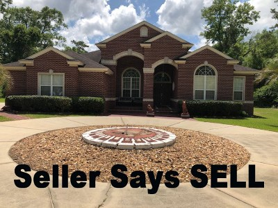 Tallahassee Single Family Home For Sale: 5009 Branded Oaks Court