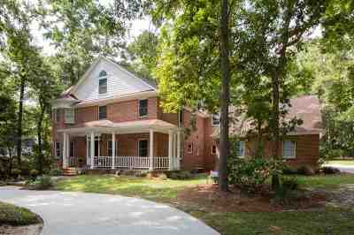 tallahassee Single Family Home For Sale: 8498 Congressional Dr