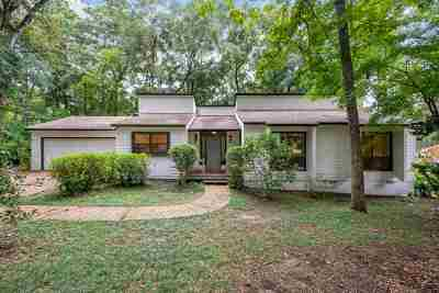 Killearn Acres Single Family Home Contingent: 6423 Count Turf Trail