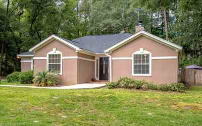 tallahassee Single Family Home For Sale: 10502 Blue Wing Court