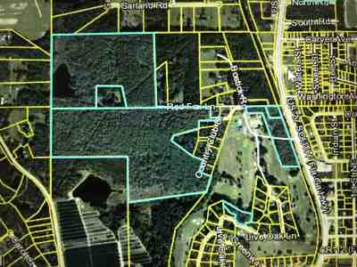 Lloyd, Tallahassee, Monticello, Lamont, Quincy, Havana, Wacissa, Crawfordville, Woodville Residential Lots & Land For Sale: Xxx Us 27 Fl-Ga Hwy