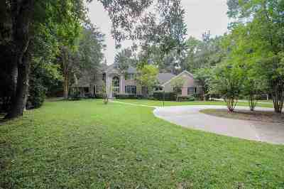 Tallahassee Single Family Home For Sale: 3705 Bobbin Brook Circle