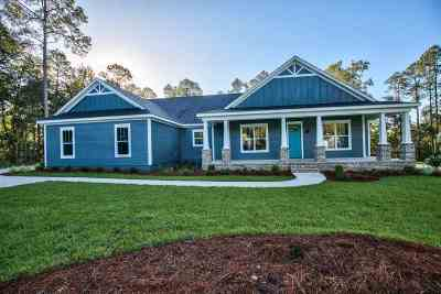 Tallahassee Single Family Home For Sale: Xx Pine Bluff Trail