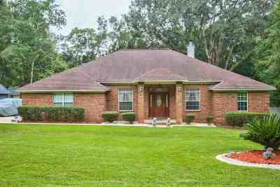 tallahassee Single Family Home For Sale: 2038 Dyrehaven Drive