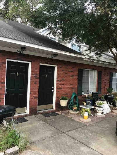 tallahassee Condo/Townhouse For Sale: 2449 Emerald Ridge Loop