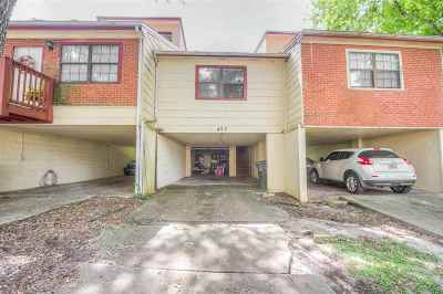 tallahassee Condo/Townhouse For Sale: 422 Indian Village Trail