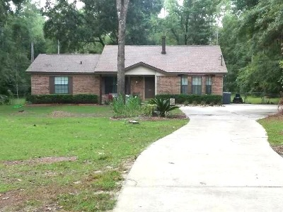 Crawfordville Single Family Home For Sale: 115 Edgewood Drive