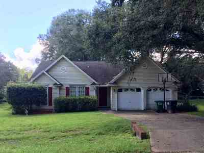 Leon County Single Family Home Contingent: 5237 High Colony Dr