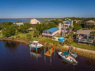 Crawfordville Single Family Home New: 7 Gulf Breeze Court