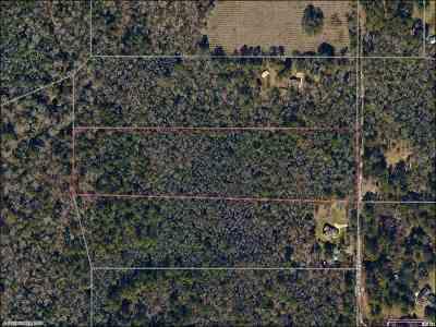 Leon County Residential Lots & Land New: Hidden Creek Lane