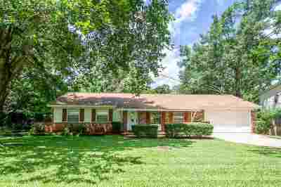 tallahassee Single Family Home For Sale: 1944 Lawson Road