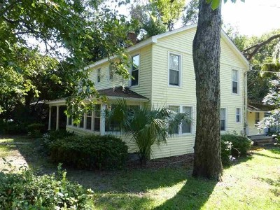 Leon County, Gadsden County, Wakulla County, Jefferson County, Franklin County Rental New: 734 N Gadsden Street #2