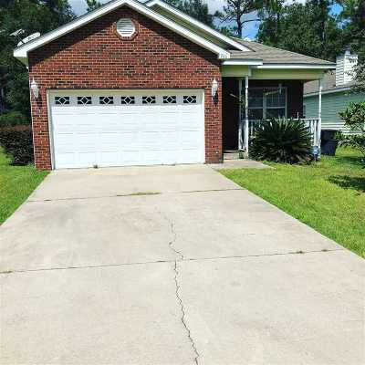 Leon County Single Family Home For Sale: 966 Crawfordville Trace