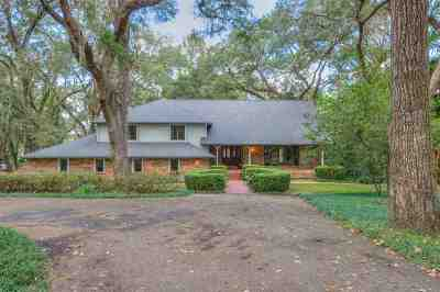 Tallahassee Single Family Home For Sale: 1464 Ox Bottom Road