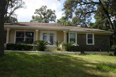 Tallahassee Single Family Home For Sale: 1523 Oldfield Dr