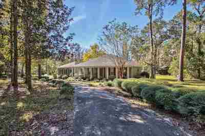 Tallahassee Single Family Home For Sale: 7036 Proctor Road