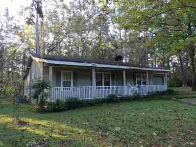 Monticello Single Family Home For Sale: 1000 Hatchett Road