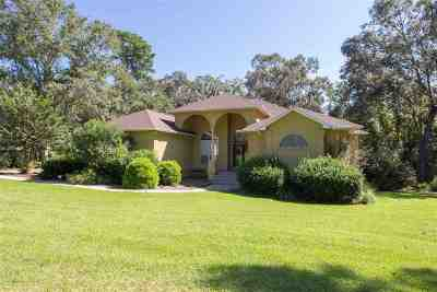 Tallahassee Single Family Home New: 363 Milestone Drive