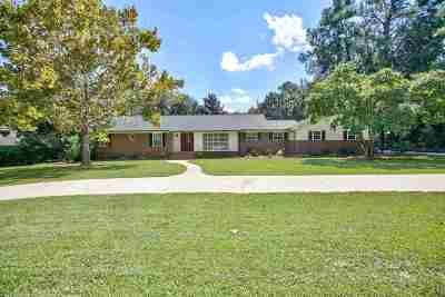 Tallahassee Single Family Home New: 2809 N Shamrock Street