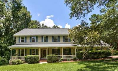 Tallahassee Single Family Home New: 3552 Carrington Drive
