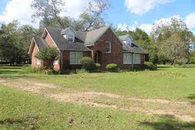 Madison County Single Family Home For Sale: 3386 SE Rogers Sink Road