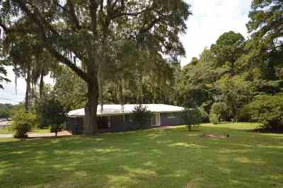 tallahassee Single Family Home For Sale: 2408 Hartsfield Road
