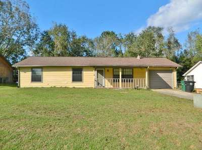 tallahassee Single Family Home For Sale: 8015 Tally Ann Drive