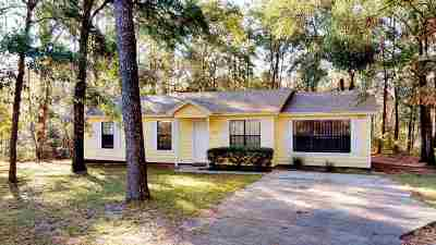 tallahassee Single Family Home For Sale: 5431 Tallapoosa Road