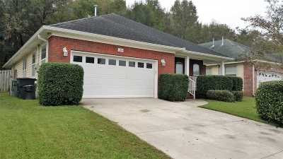 tallahassee Single Family Home For Sale: 2860 Frogs Leap
