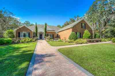 tallahassee Single Family Home For Sale: 8012 Oak Grove Plantation Road