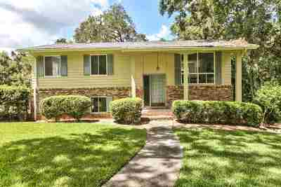 tallahassee Single Family Home For Sale: 2824 Vann Circle