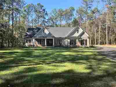 Tallahassee Single Family Home For Sale: 7051 Duck Cove Road